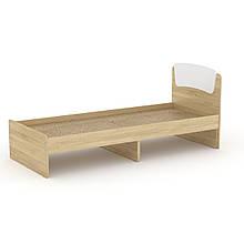 Кровать Классика 80 Компанит дуб сонома + белый, КОД: 2350854