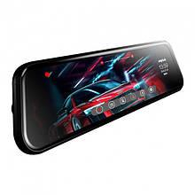 Зеркало видеорегистратор 9.66 Car Anytek T12+ 2 Мп G-sensor HDR камера заднего вида 3923-11408, КОД: 1558637