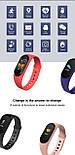 Фитнес браслет M5 в стиле Mi Band 5  (Smart Band)  Красный Умный браслет, фото 9
