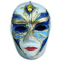 Маска карнавальная венецианская Arjuna папье-маше 44976, КОД: 1366762