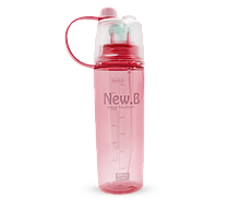 Бутылка для воды New B. Розовый hubber-207-39, КОД: 1160144