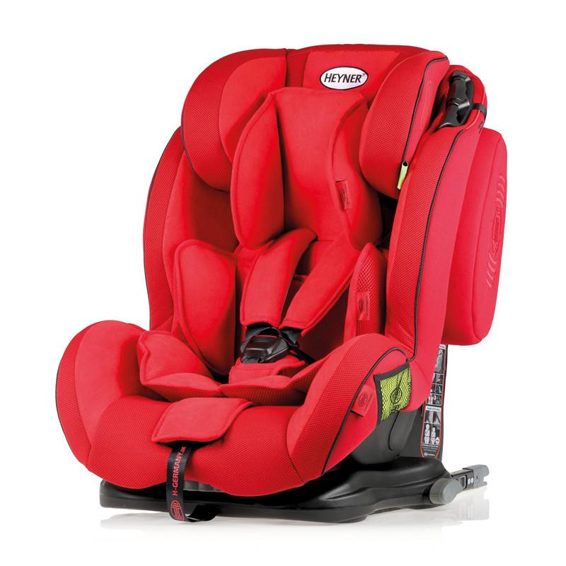 Автокрісло Heyner 9-36 кг Capsula MultiFix ERGO 3D Racing Red 786 130