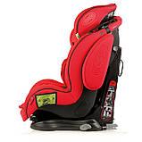 Автокрісло Heyner 9-36 кг Capsula MultiFix ERGO 3D Racing Red 786 130, фото 5