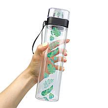 Бутылка для воды ZIZ Пальмовые листья 700 мл, КОД: 2401420