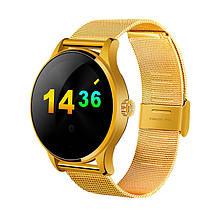 Умные часы Lemfo K88H с пульсометром Золотистые swlemk88hgold, КОД: 1333908