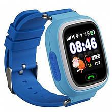 Детские cмарт-часы UWatch Q90 Blue 1058-7794, КОД: 1613162