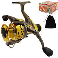 Катушка рыболовная King Cobra 4000 3BB SF23884 металлическая с дополнительной графитовой шпулей 1, КОД: