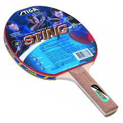 Ракетка для настольного тенниса Stiga Sting hubGNeg88496, КОД: 1711374