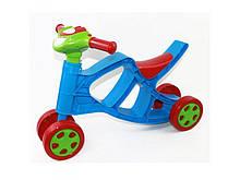 Беговел музыкальный Doloni Toys Красный Синий 0137 02, КОД: 1318565