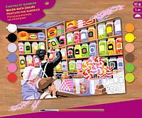 Набор для творчества Sequin Art Painting by Numbers Senior Магазин сладостей SA1520, КОД: 2444051