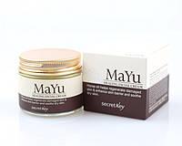 Крем восстанавливающий с конским жиром Secret Key MAYU Healing Facial Cream 70 г 464991, КОД: 1733462