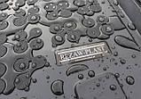 Гумовий килимок багажника Nissan X - Trail II T31 2008 - 2013 Rezaw-Plast 231025, фото 3