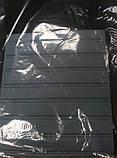 Авточохли з підігрівом Milex Arctic на передні сидіння чорно-сірі, фото 2