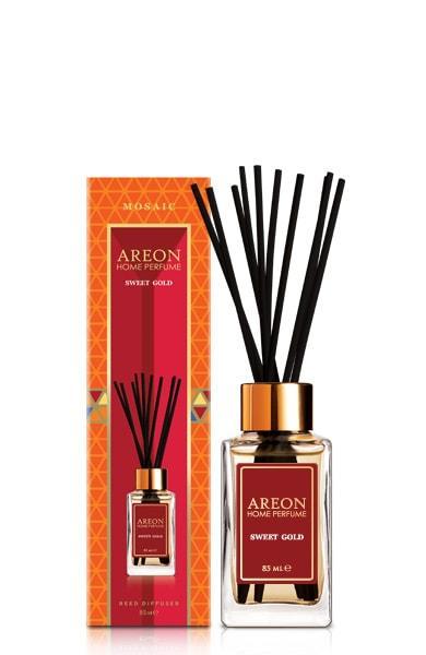 Ароматизатор Areon Home Perfume PERFUME MOSAIC SWEET GOLD 85 мл сладкое золото