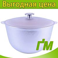 Казан походный с крышкой, объем 8 л., фото 1