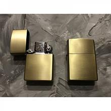 Бензиновая зажигалка Panteraa Золотая матовая 226048, КОД: 1364572