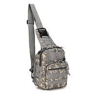 Сумка рюкзак тактическая городская повседневная TACTICAL B14 Пиксель hubzjwj51790, КОД: 1620840