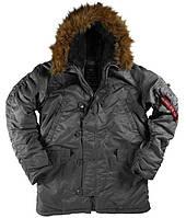 Куртка Alpha Industries Alpha N-3B Parka L Gun Metal, КОД: 1313264