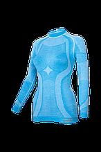 Женская термокофта Haster Merino Wool XS Синяя, КОД: 124823