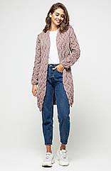 Кардиган Prima Fashion Knit Лало 42 52 Капучино Pfk-4521059-1, КОД: 1402196