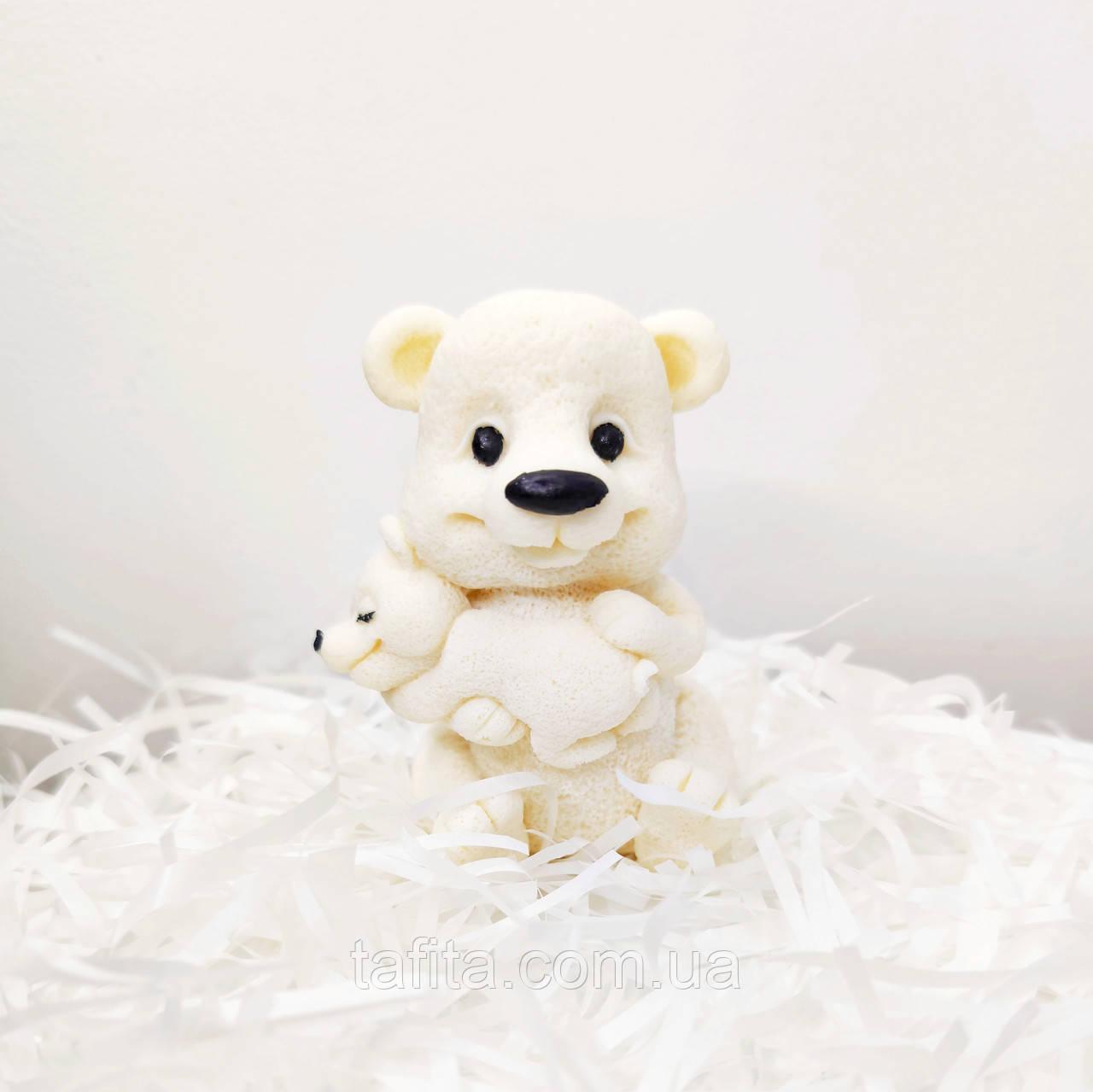 Фигурка на торт Мишка с медвежонком