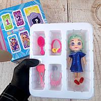 Игровой набор HairDorables Dolls кукла сюрприз серия с аксессуарами (Настоящие фото)