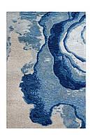 Ковер Damast 100 Синий/Серый