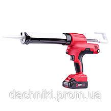 Пистолет для герметика аккумуляторный Worcraft CCG-S20Li, фото 3