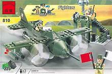 Конструктор BRICK 810 Истребитель 225 деталей, КОД: 1317656