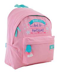 Рюкзак молодіжний YES ST-30 Awesome 15.5 л Рожевий 556759, КОД: 1252133