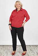 Женская блузка NadiN 1340 1 Красная 60 р 1340160, КОД: 1256510