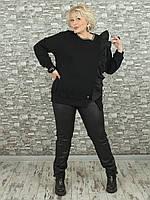 Женская туника NadiN 1611 1 54 размер Черная, КОД: 1580494