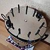 Электрошашлычница Помощница 11 шампуров + колба в подарок 1500Вт с таймером, фото 3