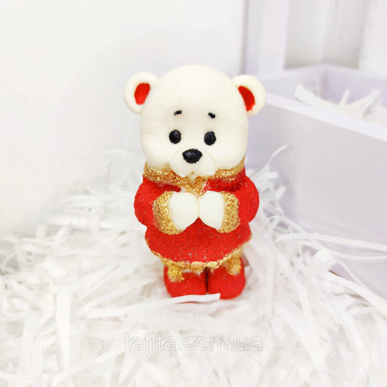 Фигурка на торт Мишка в костюме