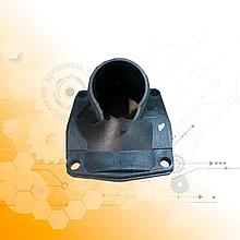 Кришка теплообмінника круглого задня ЯМЗ (пластик) 7511-1013710