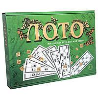 Настольная игра Strateg Лото с деревянными фишками 30661, КОД: 2439688