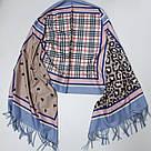 Кашемировый теплый шарф палантин  Cashmere 142011, фото 2