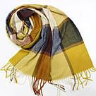 Кашемировый теплый шарф палантин  Cashmere 144012, фото 3