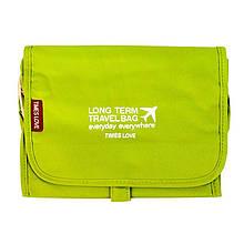 Органайзер путешественника Traveler CleanOrder 24x20x5 смЗеленый 21641, КОД: 1388639