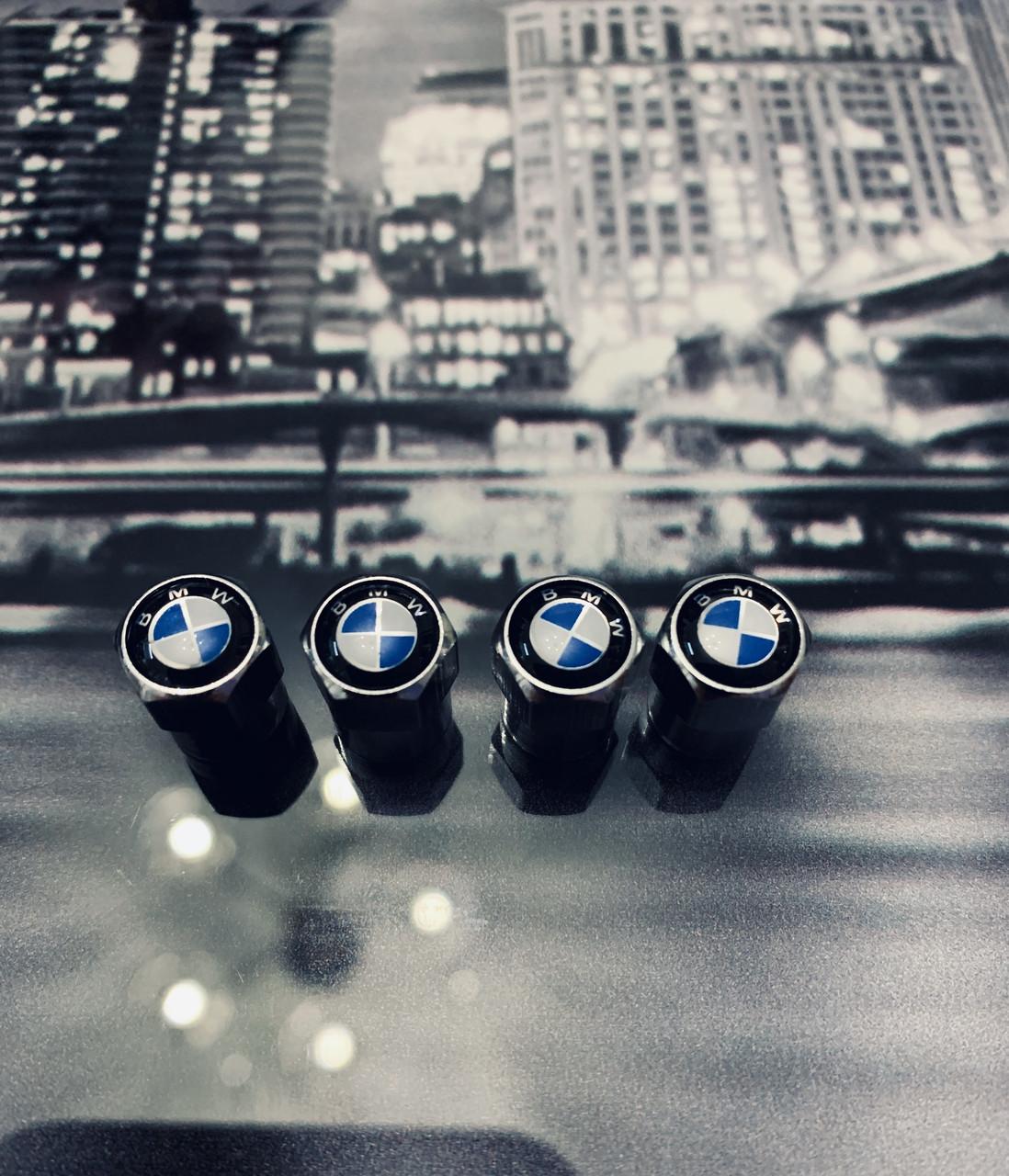 Колпачки для клапанов колесных шин  для Bmw серые