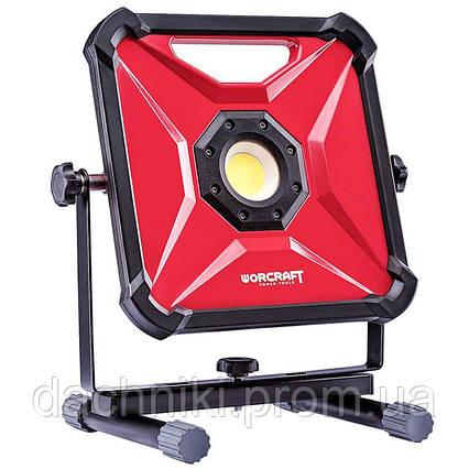 Портативна діодна лампа акумуляторна Worcraft СПРИВЕЛО-S20Li-30W, фото 2