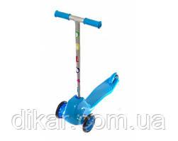 Игрушка детская «Самокат» 0153/4 голубой