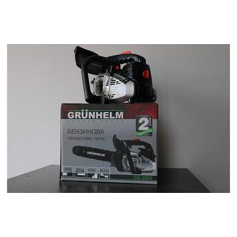 Бензопила одноручная Grunhelm GS-2500, фото 2