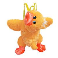 Рюкзак детский Золушка Утка 50см Желтый 432, КОД: 1463519