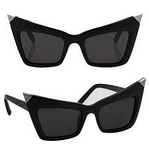 Солнцезащитные очки Bananahall Cat Eye Черные bnnhll4061, КОД: 975263