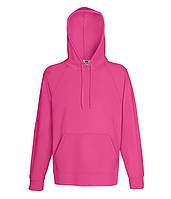 Худи Fruit of the Loom Lightweight hooded sweat XXL Малиновый 062140057XXL, КОД: 1554429