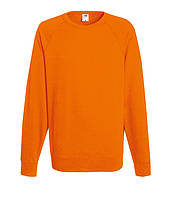 Свитшот Fruit of the Loom Lightweight raglan sweat S Оранжевый 062138044S, КОД: 1574344