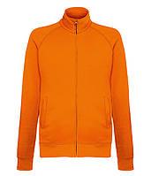 Толстовка Fruit of the Loom Lightweight sweat jacket L Оранжевый 062160044L, КОД: 1574554