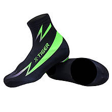 Бахилы велосипедные X-Тiger XM-DPXT-013 Green L велобахилы 5113-17958, КОД: 2404173