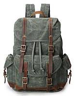 Рюкзак дорожный текстильный Vintage 20056 Зеленый 20056, КОД: 1891584